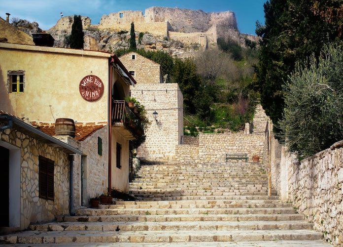 Fortress in Novigrad Dalmatia
