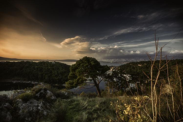 Novigrad Dalmatia Sunset